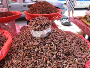 Chapulines (grasshoppers)