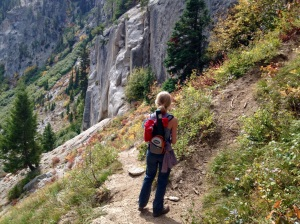 Finding the way to Goat Lake