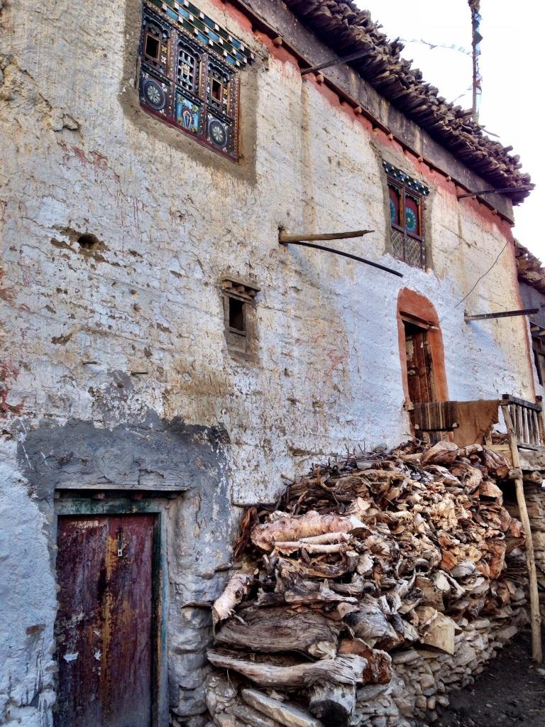 Traditional Tibetan style home