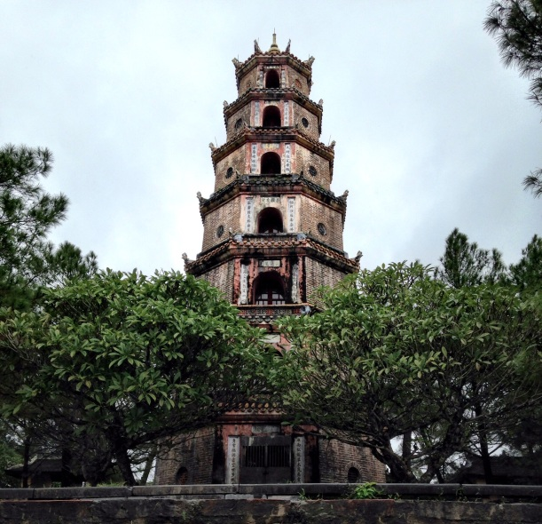 Perfume River pagoda