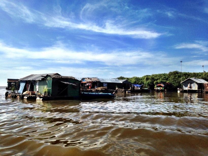 A year round floating village