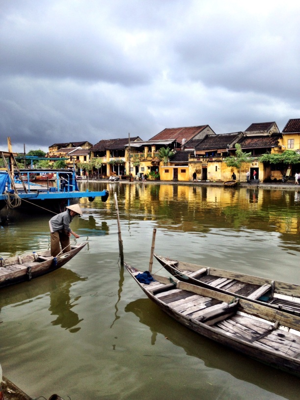 Hoi An, Vietnam. Beautiful even in the rain.
