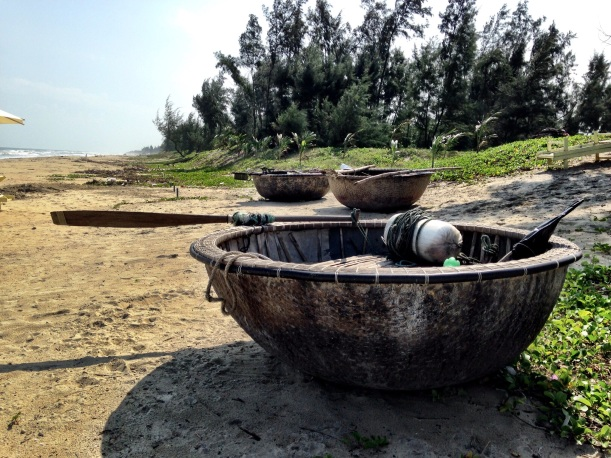 Cool boats, on the shores of Vietnam.