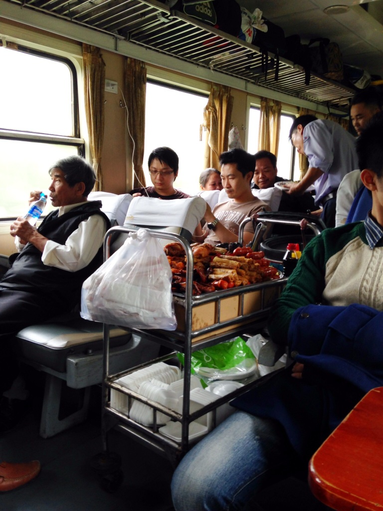 Train travel was much better.