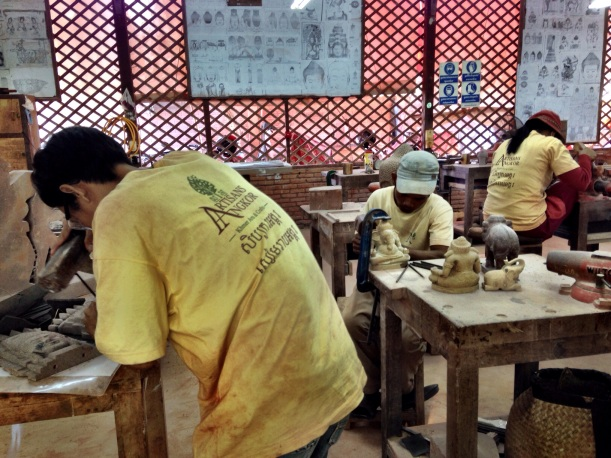 Artisans of Angkor, a non-profit organization that trains Cambodians in art craft, creating jobs for thousands.