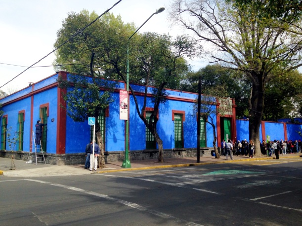 Casa Azul, located in Coyocoan, Mexico City