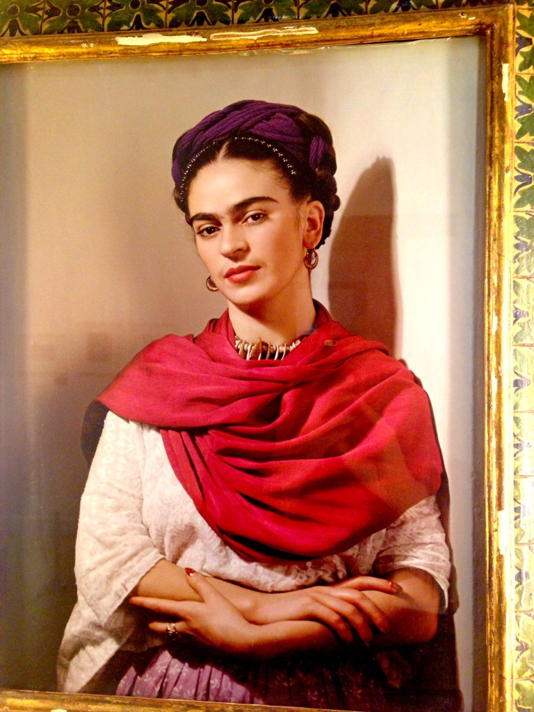 Photograph taken of Frida.