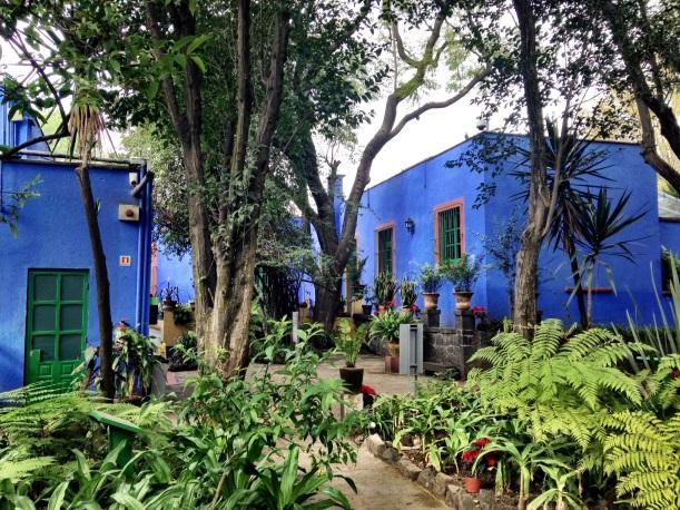 Inner courtyard, Casa Azul