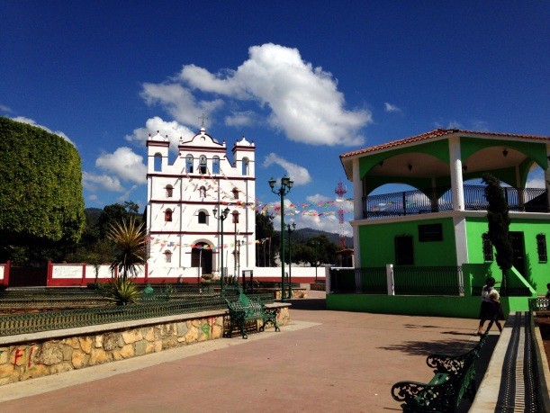 Town square, Amatenango del Valle