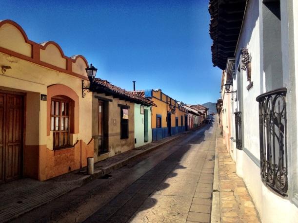 Cobblestone streets, San Cristobal de las Casas.