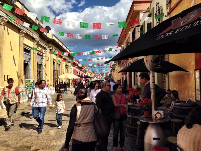 No traffic, pedestrian streets... San Cristobal has three of these!
