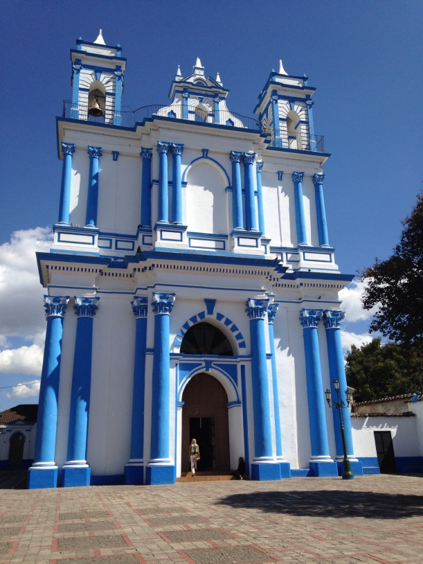 Every neighborhood in San Cristobal has a church.