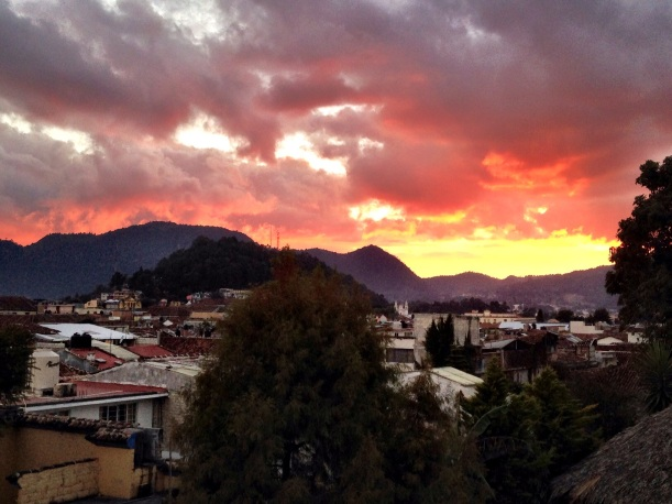 San Cristobal sunsets